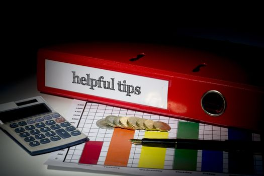 Helpful tips on red business binder