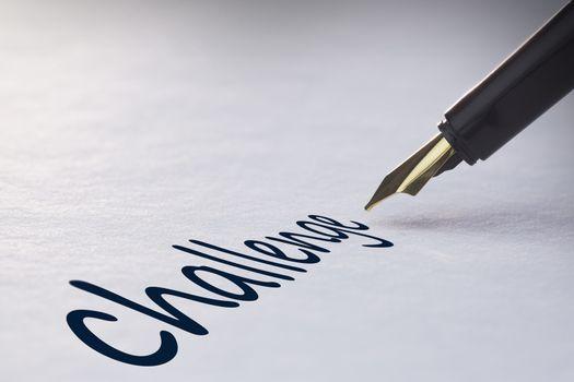 Fountain pen writing Challenge