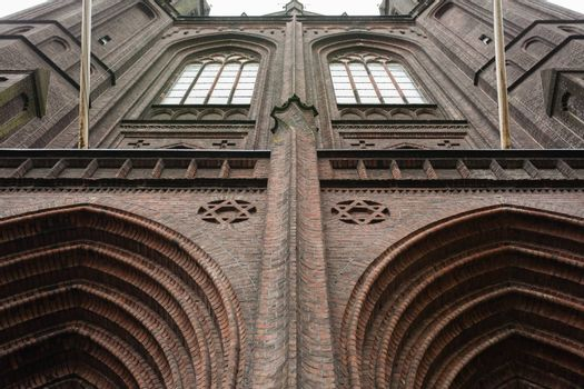 St. Franciscus Xavierius or De Krijtberg (A. Tepe, 1881-1883) church in Amsterdam