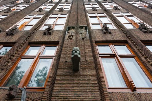 Great example  of art nouveau architecture in Amsterdam , the Scheepvaarthuis building by Johan van der Mey