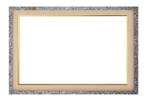 Created Frame Picture on white background.