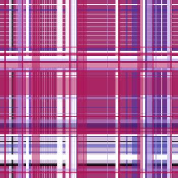 plaid 13015bt red, white and violet