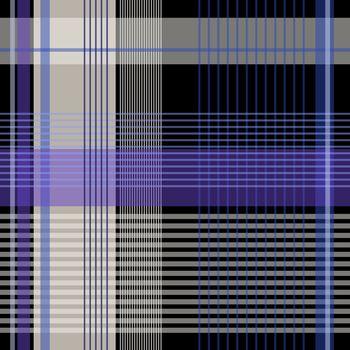 plaid 13037bt black blue