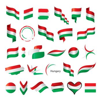 biggest collection of vector flags of Hungary