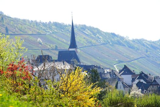 Enkirch on the Moselle