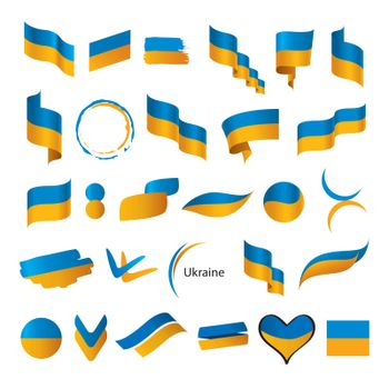 biggest collection of vector flags of Ukraine