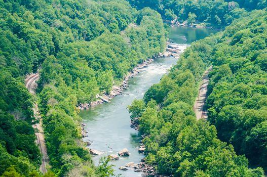 new river gorge scenics