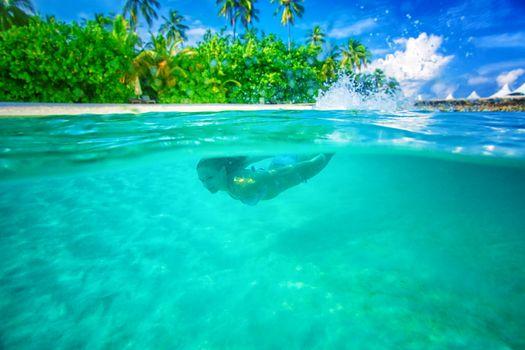 Enjoying marine life