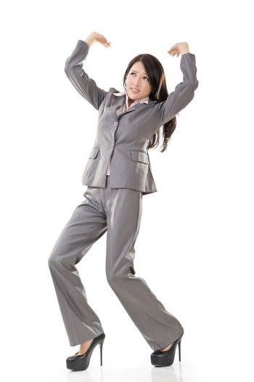 business woman under stress
