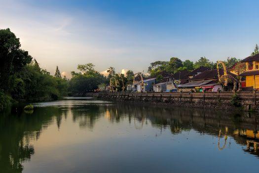 Pura Taman Ayun area in Bali, Indonesia