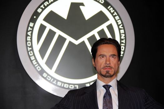 Tony Stark at Madame Tussauds Hollywood Grand Opening Party for the Marvel Super Heroes 4D Theater, Madame Tussauds Hollywood, Hollywood, CA 07-10-14/ImageCollect