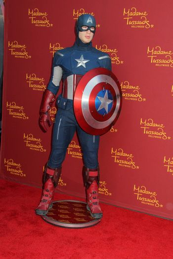 Captain America at Madame Tussauds Hollywood Grand Opening Party for the Marvel Super Heroes 4D Theater, Madame Tussauds Hollywood, Hollywood, CA 07-10-14/ImageCollect