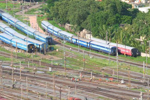 Train compartments