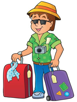 Travel thematics image 1 - eps10 vector illustration.