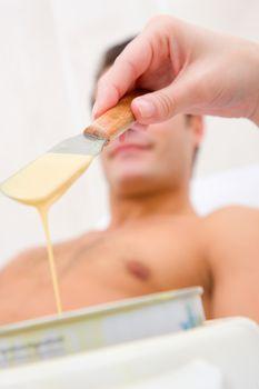 Hot wax treatment