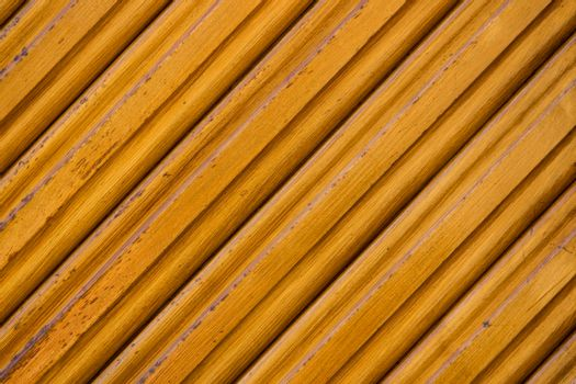 close up view of diagonaly shaped pattern in a wooden door
