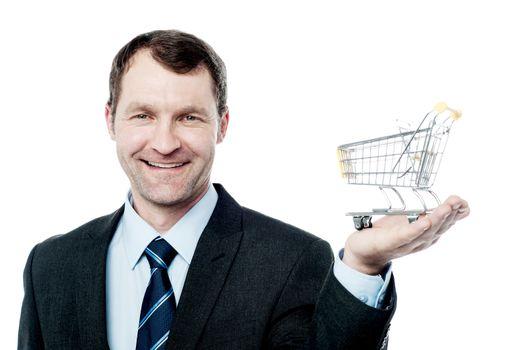 Add to cart, e-commerce concept