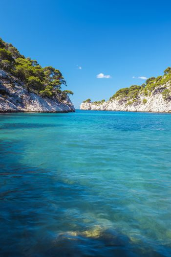 Famous calanque of Port Pin