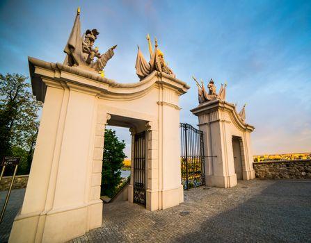 Gate at Bratislava Castle