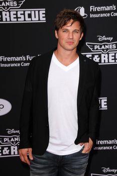 "Matt Lanter at the ""Planes: Fire & Rescue"" World Premiere, El Capitan, Hollywood, CA 07-15-14/ImageCollect"