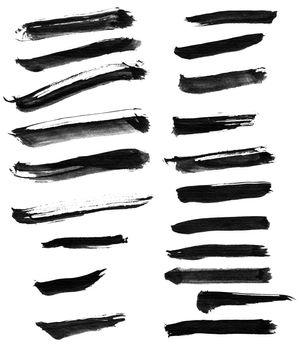 Chinese ink calligraphy brush