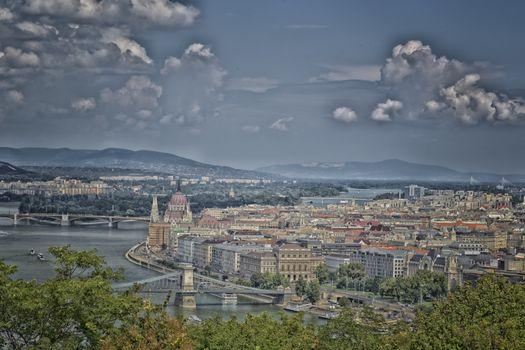 Danube View in Budapest