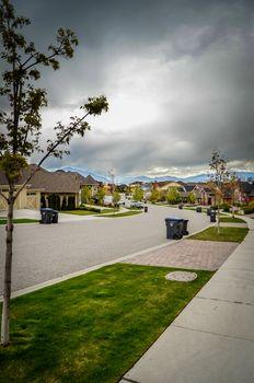 Average Suburb Street