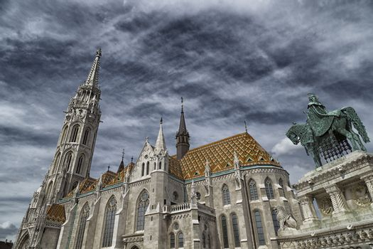 The Mathias Church in Budapest (HUngary) or Church of Our Lady
