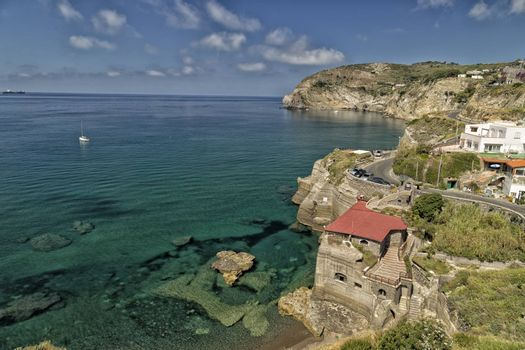 View of Sant���Angelo in Ischia Island