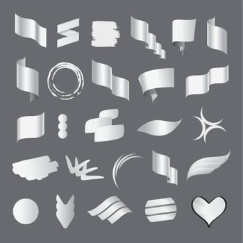 Biggest collection of vector white flags