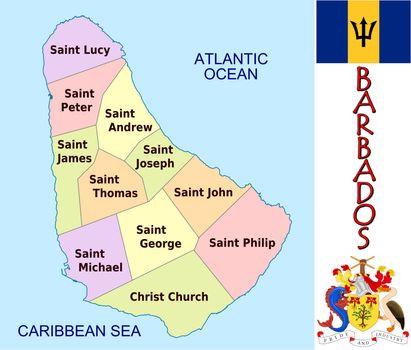 Barbados divisions