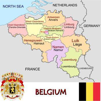 Belgium divisions
