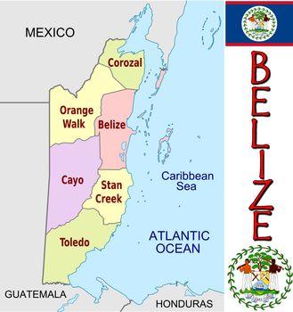 Belize divisions