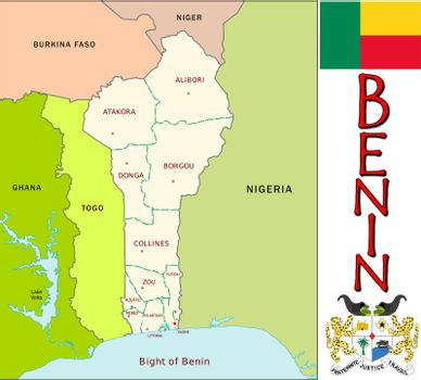 Benin divisions