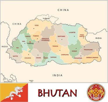 Bhutan divisions
