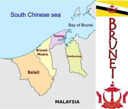 Brunei divisions