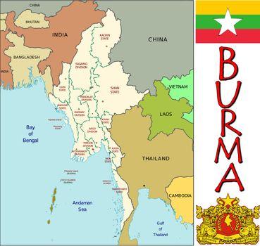 Burma divisions