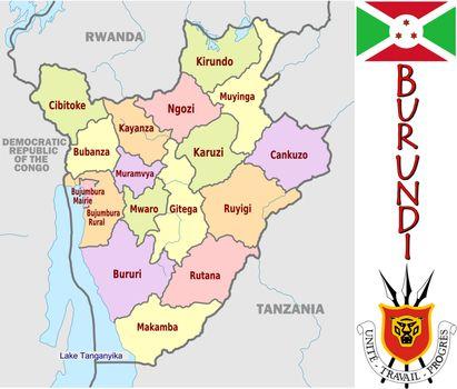 Burundi divisions