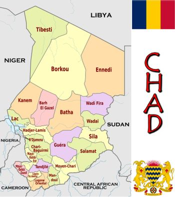 Chad divisions
