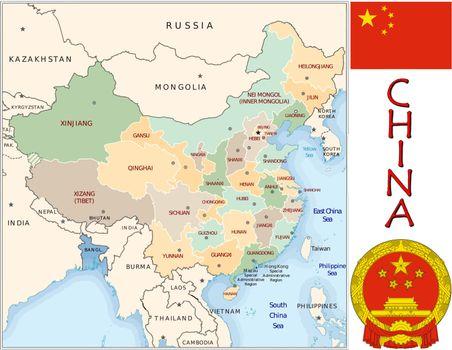 China divisions