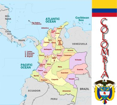 Colombia divisions