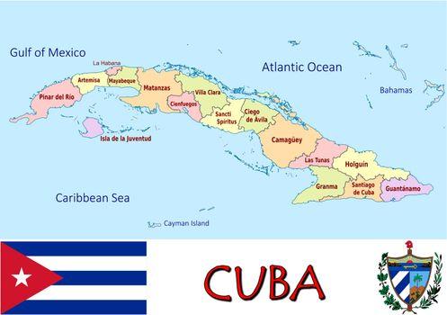 Cuba divisions
