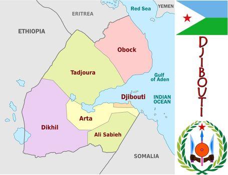 Djibouti divisions