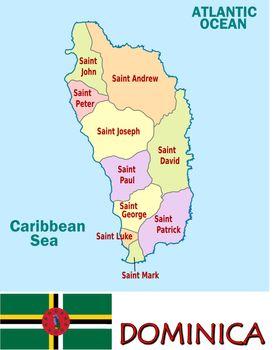 Dominica divisions