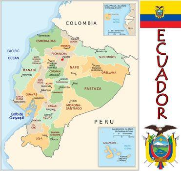 Ecuador divisions