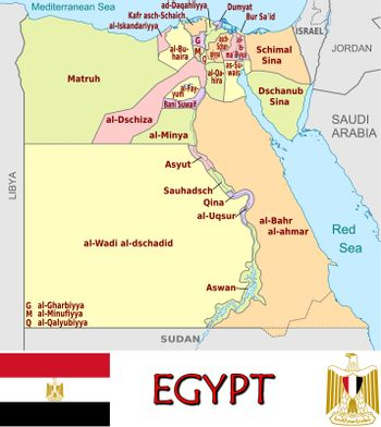 Egypt divisions