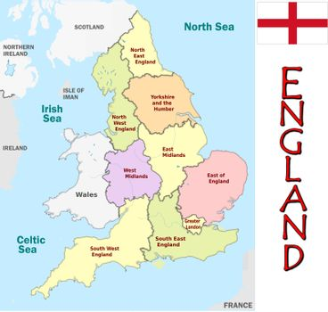 England divisions