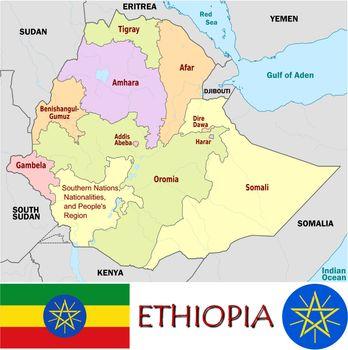 Ethiopia divisions