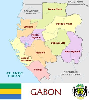Gabon divisions