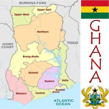 Ghana divisions